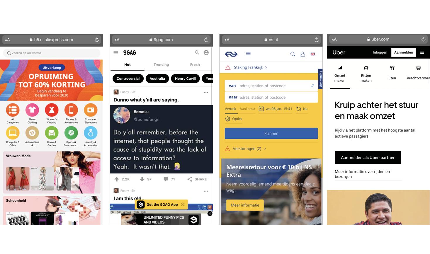 Online trends progressive web apps