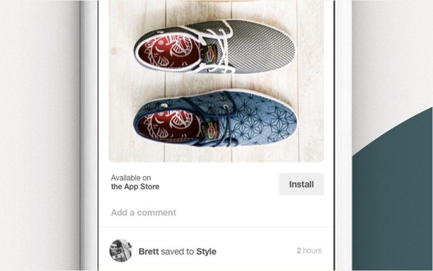 Pinterest promotie app download app store