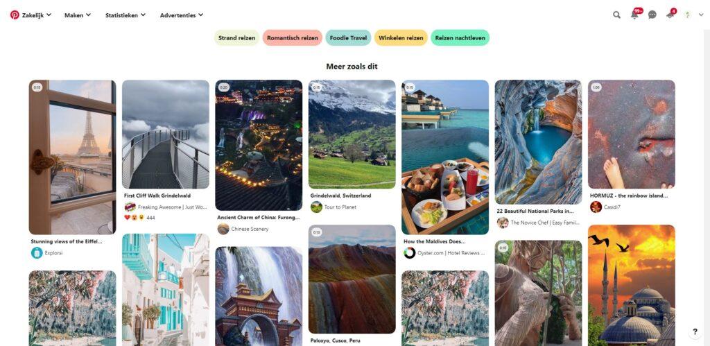 Pinterest inspirerende foto's trafel food vacation