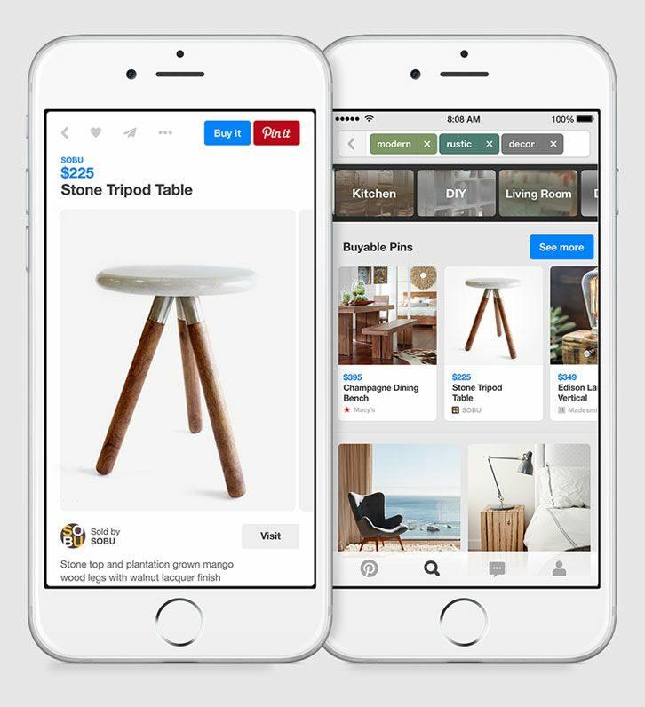Pinterest categorie zoeken op producten