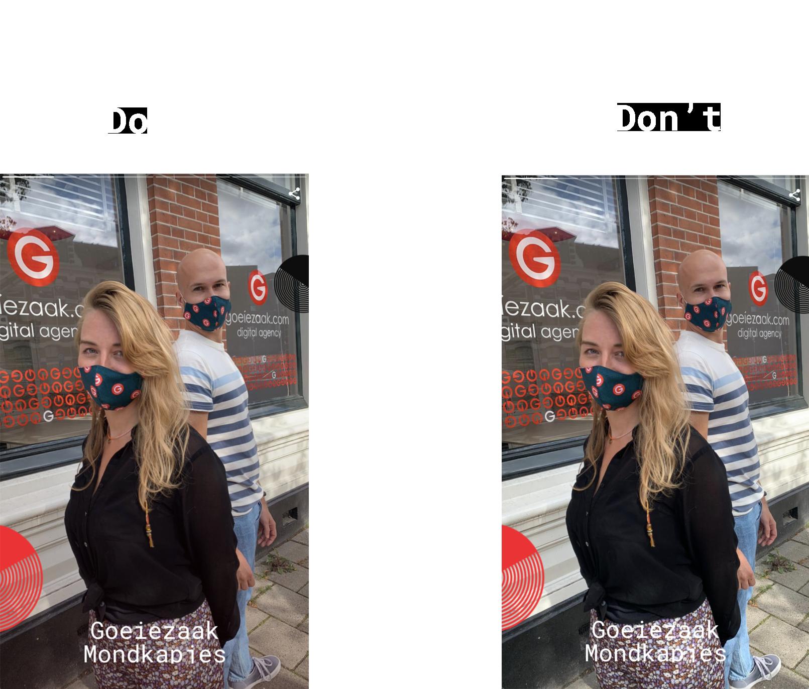 Google Web Stories tekst leesbaarheid verhogen door contrast aan te passen