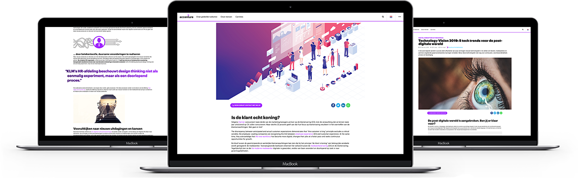 Accenture Insights website