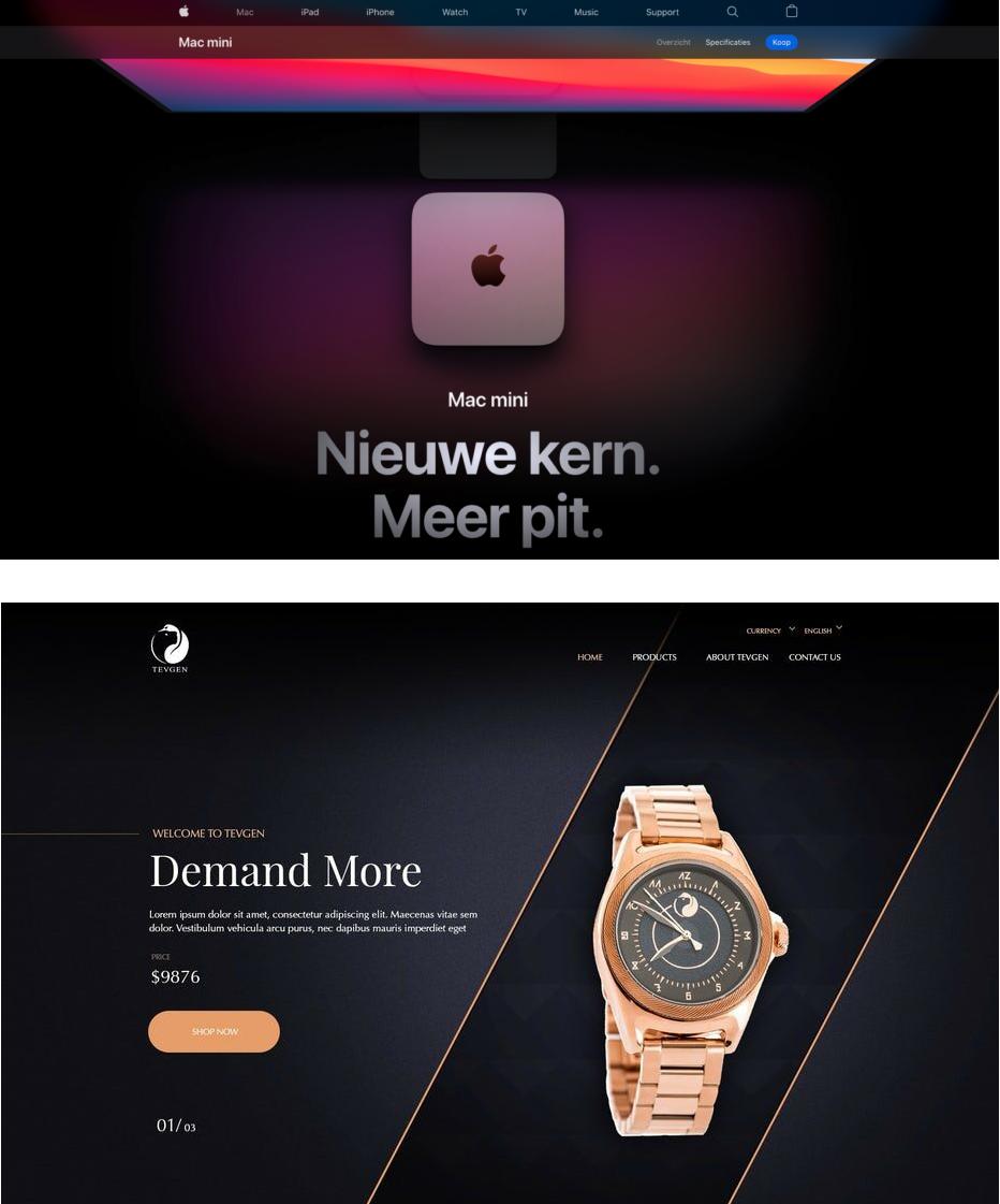 Dark mode by design