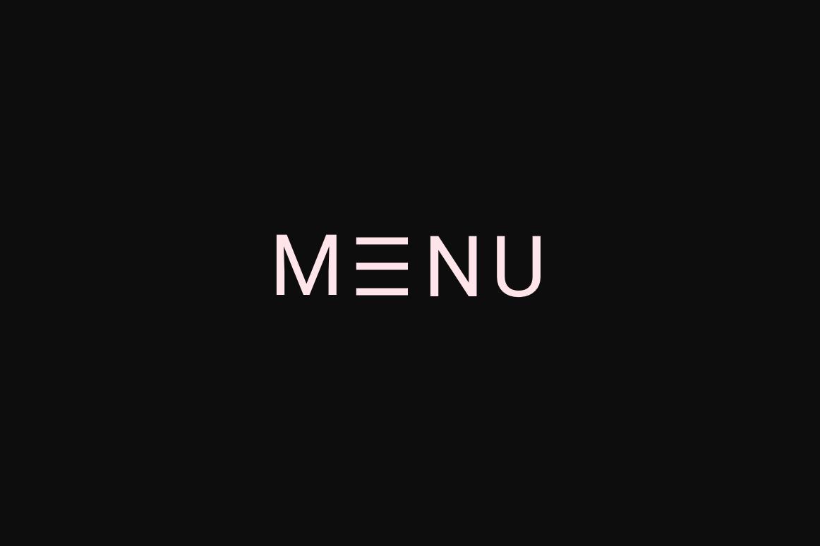 hamburgericoon vervangen voor het woord 'menu'